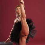 Hot ballet sex with young flexible girl