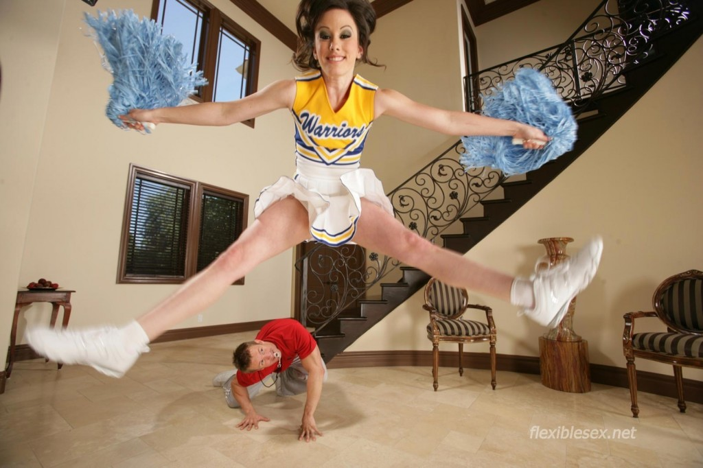 Flexible cheerleader